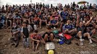 Cerita Sore Merajut Keceriaan di Pesisir Jakarta