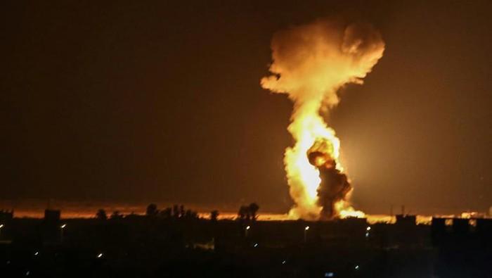 Israel serang Hamas (AFP Photo)