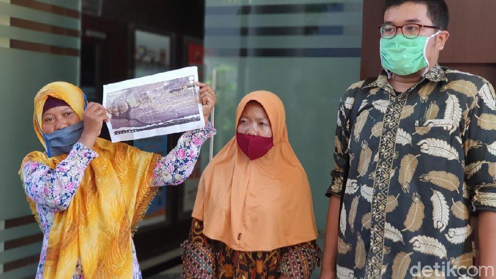 Perjuangkan Tanahnya, Istri dan Anak Mendiang Salim Kancil Diperiksa Polda Jatim