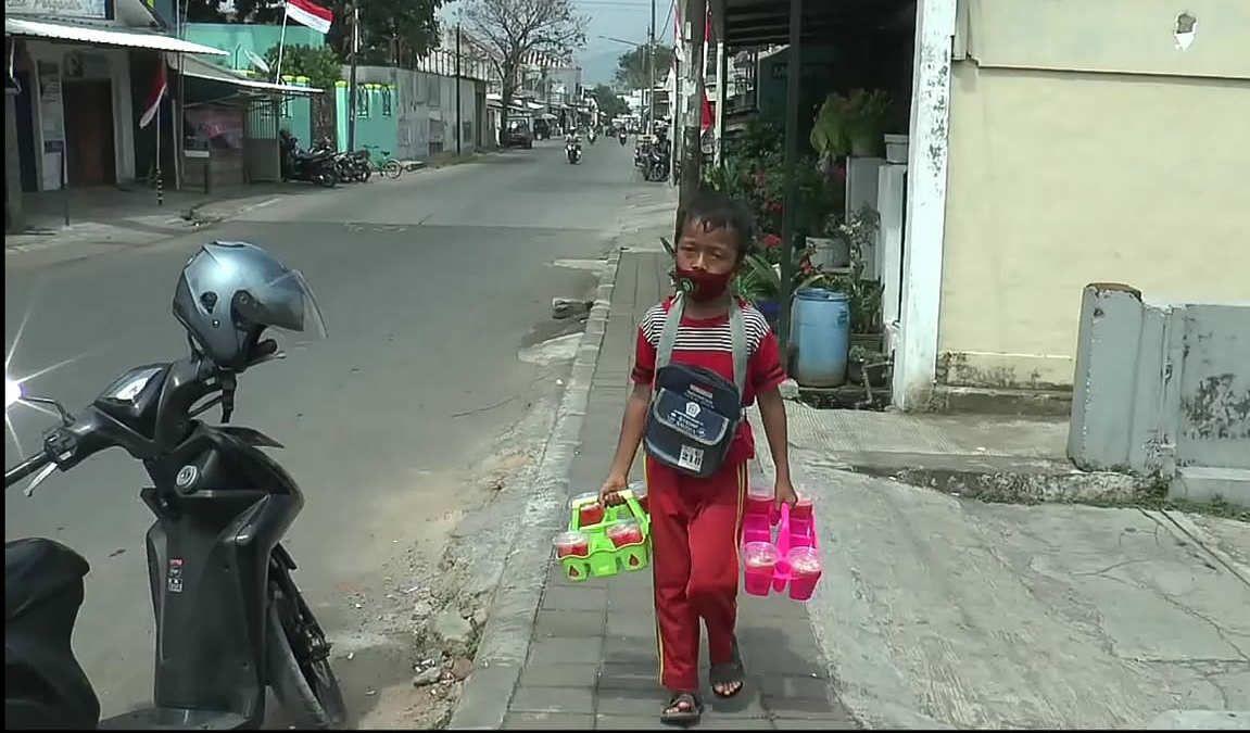 Jafar Sidik (11), bocah asal Sumedang.