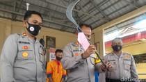 Sadis! Pria di Palembang Tewas Ditombak di Depan Anak