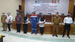 128 Warga Aceh Tamiang Dapat Pelatihan Kerja dari Kemnaker