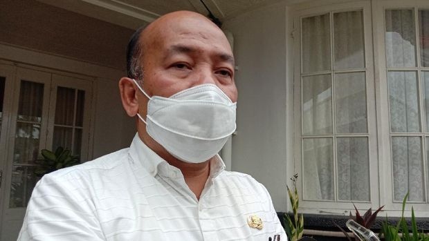 Kepala BPBD Sumut, Riadil Akhir Lubis (Ahmad Arfah-detikcom)