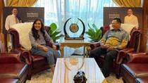 Ketua MPR Ajak Ayu Ting Ting Sampaikan Pesan Kebangsaan di Medsos