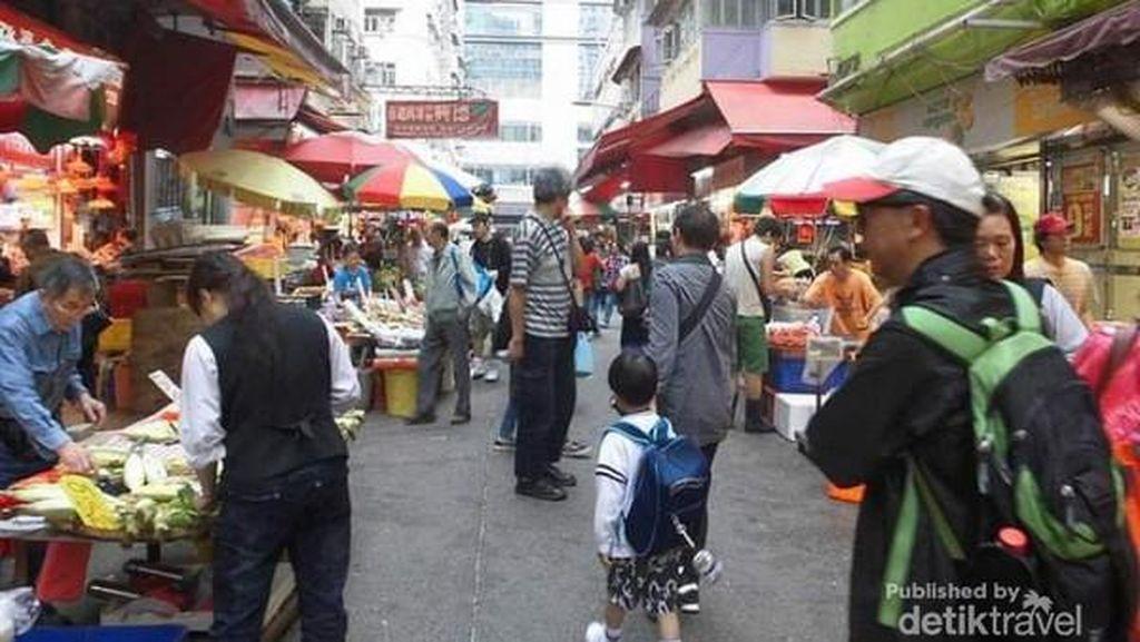 Mong Kok, Ladies Market dari Hong Kong