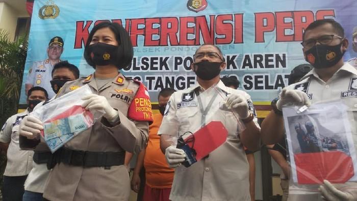 Penjambret viral di Pondok Aren ditangkap