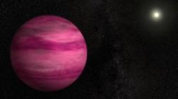 NASA Temukan Planet Gas Merah Muda yang Cantik