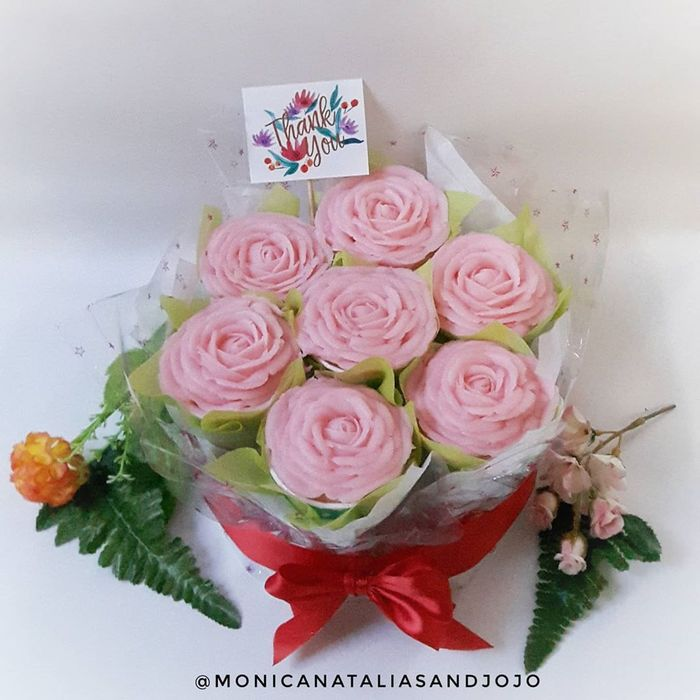 puding buket bunga