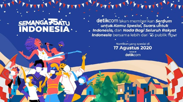 Semangat Satu Indonesia, detikcom