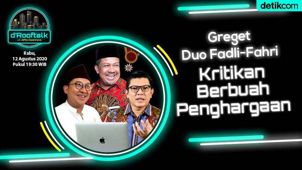Live! Fadli Zon - Fahri Hamzah Bicara Anugerah Bintang Mahaputera