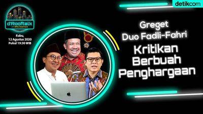 Bintang Mahaputera Untuk Duo Fadli-Fahri