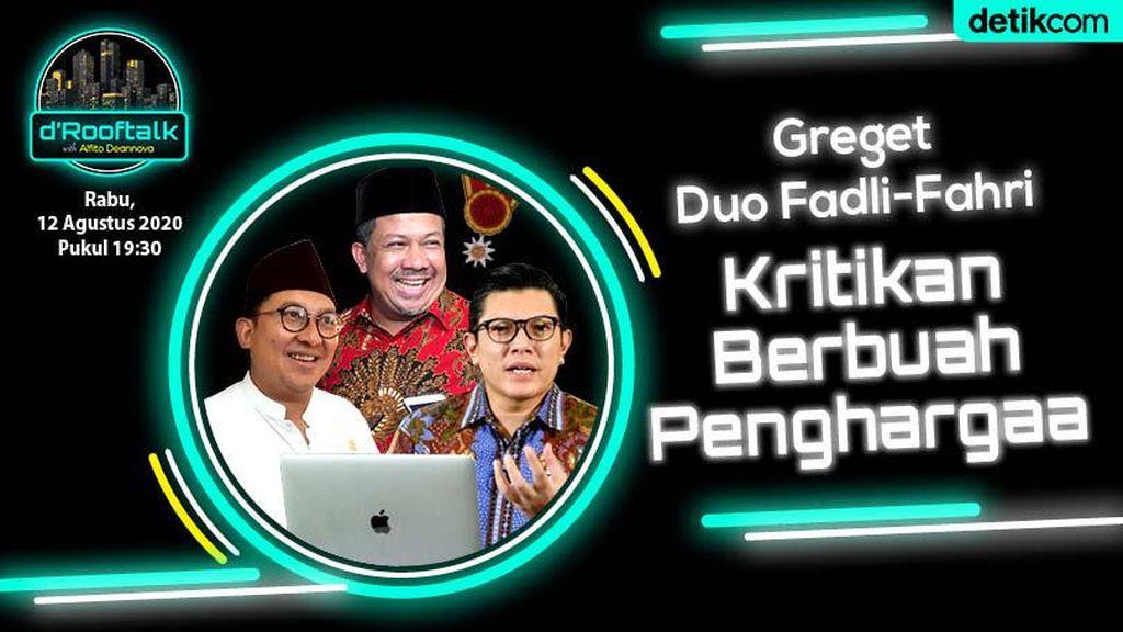 Bintang Mahaputera Untuk Duet Fadli-Fahri