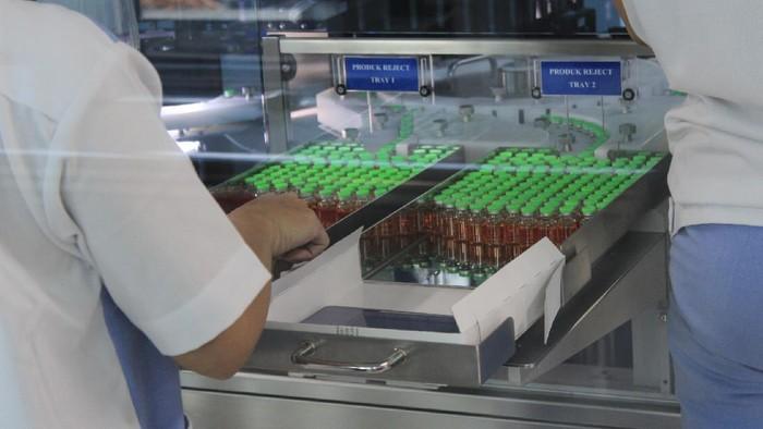Penampakan vaksin Corona Sinovac