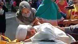 Heboh Warga Kota Malang Cium Jenazah Pasien Probable COVID-19