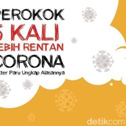 4 Alasan Perokok Lebih Rentan Tertular Virus Corona