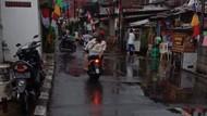Banjir di Jalanan Bukit Duri Kini Sudah Surut