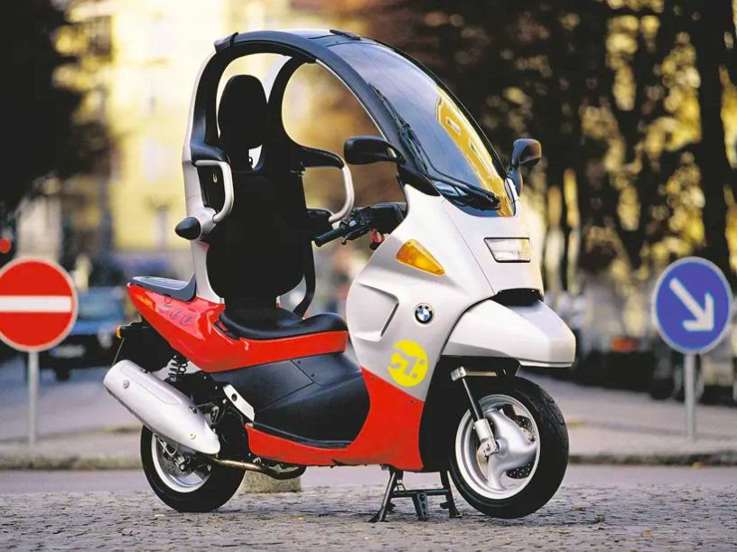BMW C1 listrik