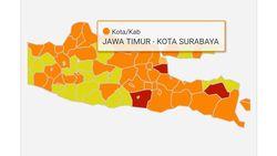 Surabaya Zona Oranye, Pasien di Rumah Sakit Selama Dua Pekan Berkurang