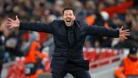 Atletico Madrid Harus Lupakan Kemenangan di Anfield