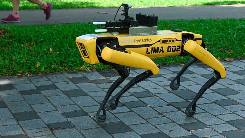 Drone Singapura