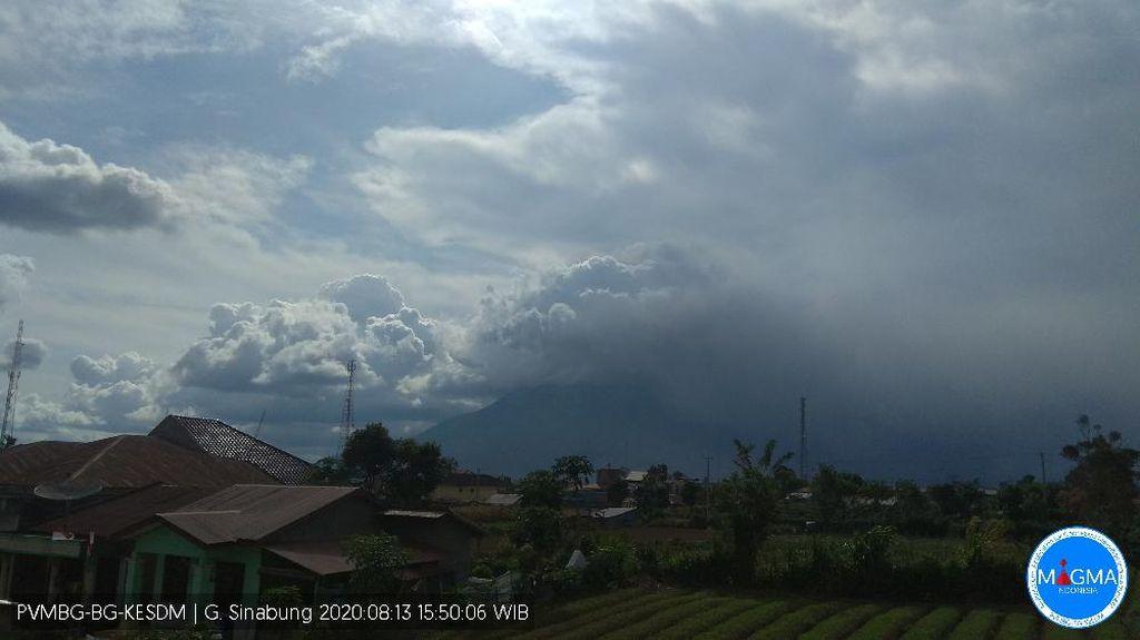 Gunung Sinabung Erupsi Lagi, Kelima dalam Hari Ini