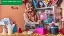 Repot Kirim Pesanan, Pengusaha Buket di Makassar Terbantu GrabExpress