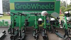 Skuter Listrik Grabwheels Kembali Diluncurkan di Jakarta