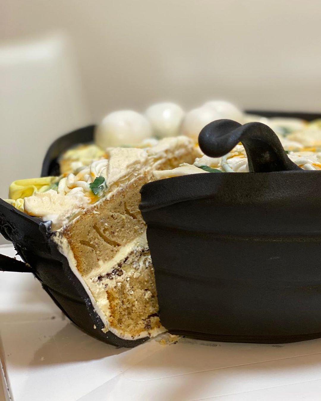 Baker Bikin Illusion Cake