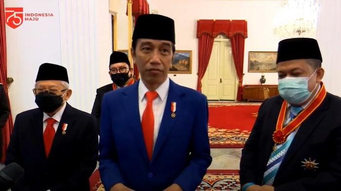 Jokowi-Maruf bersama Fahri Hamzah dan Fadli Zon (YouTube Setpres)