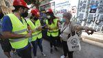Aksi Kompak Warga Lebanon Pascaledakan