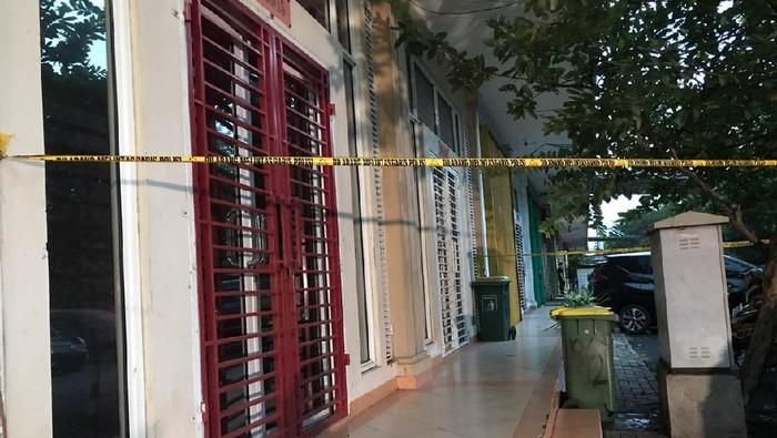 Lokasi penembakan di Kelapa Gading