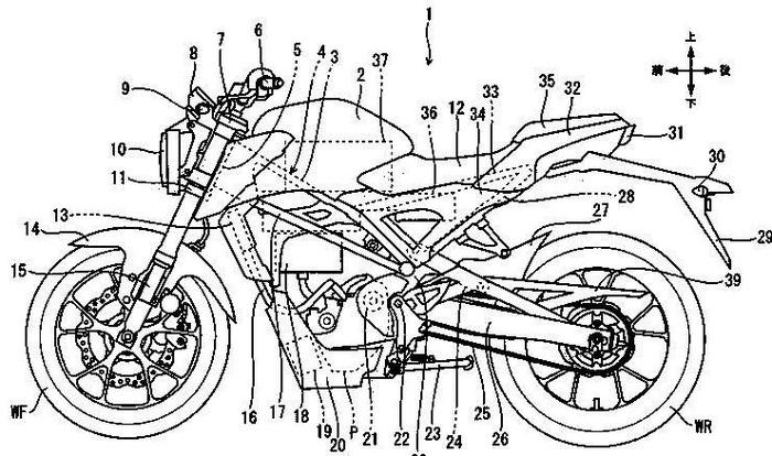 Motor listrik terbaru Honda