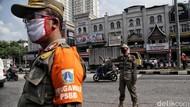 Awas! Gunakan Masker di Jidat dan Leher Akan Disanksi Satpol PP DKI