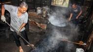 Potret Produksi Bubuk Kopi Tradisional