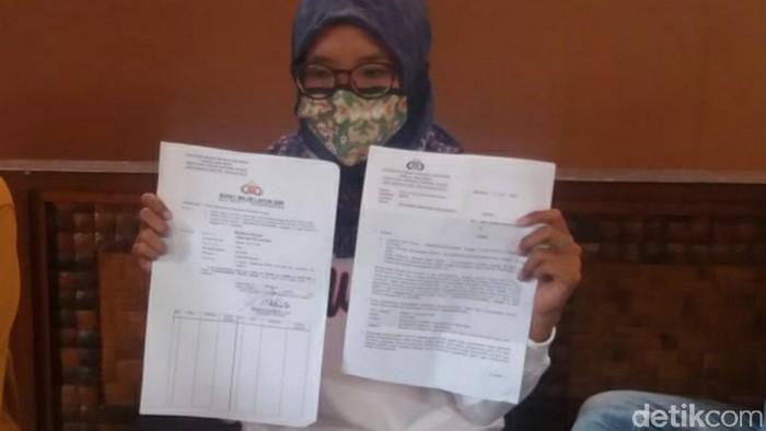 putri kandung dprd ciamis dilaporkan ke polisi oleh ayahnya