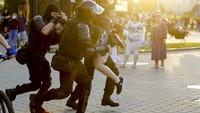 Polisi Belarus Tangkap 140 Pengunjuk Rasa Pelantikan Presiden Lukashenko