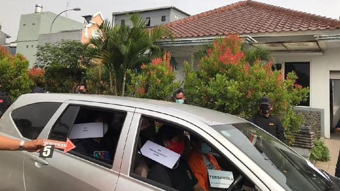 Rekonstruksi pembunuhan WN Taiwan di Cikarang, Bekasi
