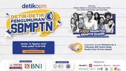 Saksikan Live Streaming Detik-detik Pengumuman SBMPTN di detikcom