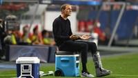 Kalau Tidak Pincang, Tuchel Lari 40 Meter Rayakan PSG ke Semifinal