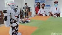 Begini Jalannya Upacara Kemerdekaan RI ke-75 Oleh Robot di Klaten