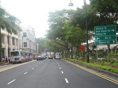 Potret Jalanan Paling Bersejarah di Singapura