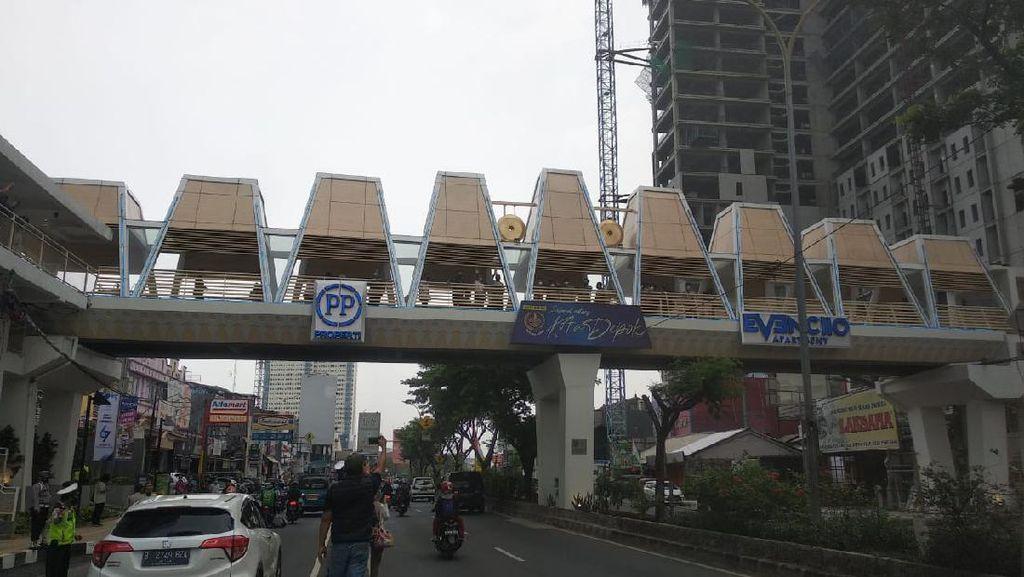 JPO Baru di Margonda Difungsikan untuk UMKM, Walkot Depok: Jangan Nongkrong