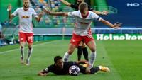 Leipzig Vs Atletico Masih Tanpa Gol di Babak Pertama