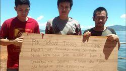 Terdampar di Kapal Asing, 3 Warga Jabar Minta Tolong Jokowi