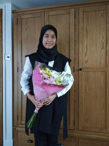 Aishah yang kuliah di Universitas Oxford