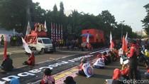 Ada Demo di Jalan Pahlawan Semarang, Arus Lalin Dialihkan