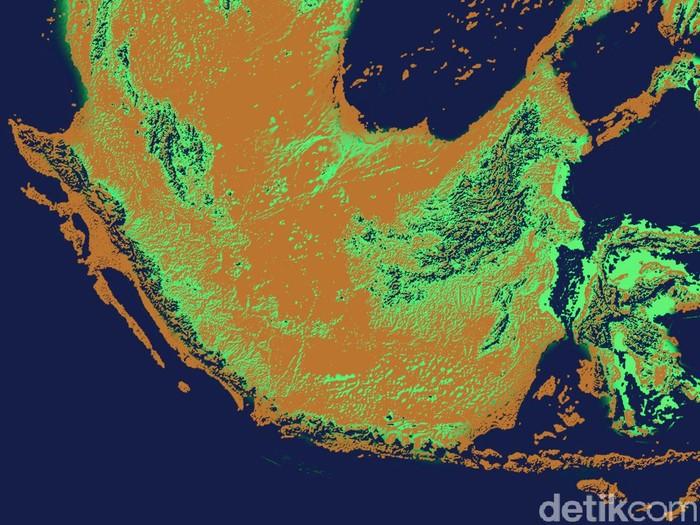 Benua Sundaland dan Sahul di Zaman Es