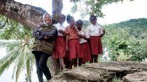 Cerita Pengajar Muda di Papua: Mengajar Via Radio Meski Tak Menjangkau Semua Lokasi
