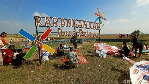 Festival layang-layang di Jepara