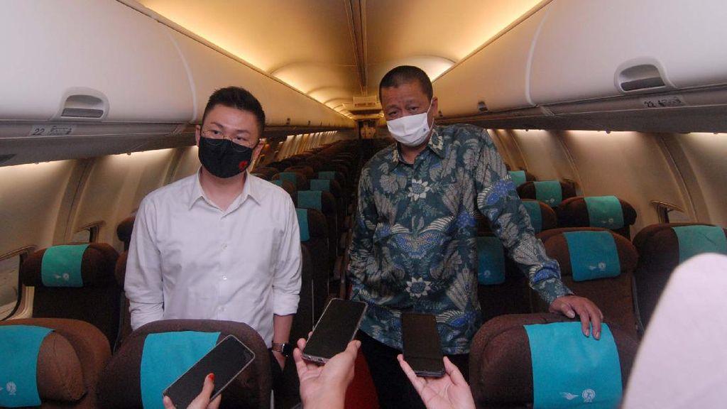 Garuda Indonesia Sediakan Layanan Penerbangan Charter